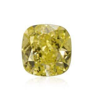 Камень без оправы, бриллиант Цвет: Желтый, Вес: 1.85 карат