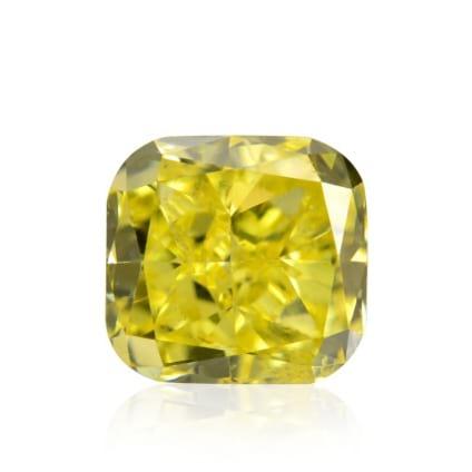 Камень без оправы, бриллиант Цвет: Желтый, Вес: 0.41 карат