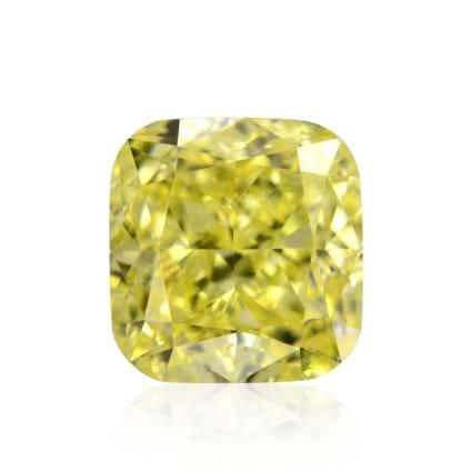 Камень без оправы, бриллиант Цвет: Желтый, Вес: 0.60 карат