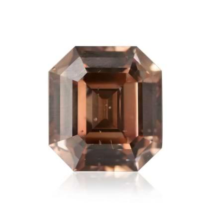 Камень без оправы, бриллиант Цвет: Коричневый, Вес: 0.84 карат