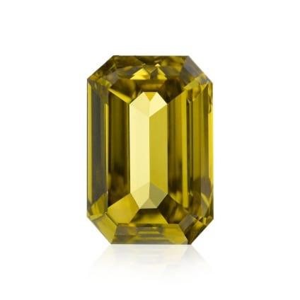 Fancy Deep Brownish Greenish Yellow 300006