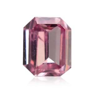 Камень без оправы, бриллиант Цвет: Розовый, Вес: 0.08 карат