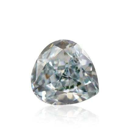 Камень без оправы, бриллиант Цвет: Зеленый, Вес: 0.18 карат
