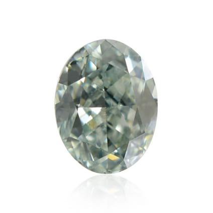 Камень без оправы, бриллиант Цвет: Зеленый, Вес: 0.10 карат