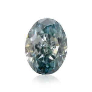 Камень без оправы, бриллиант Цвет: Зеленый, Вес: 0.15 карат