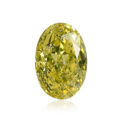 Fancy Intense Greenish Yellow 111204
