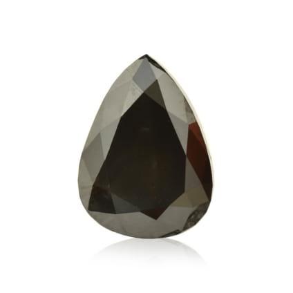 Камень без оправы, бриллиант Цвет: Черный, Вес: 3.02 карат