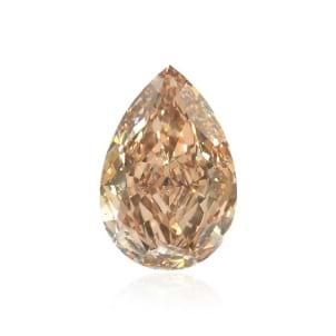 Камень без оправы, бриллиант Цвет: Оранжевый, Вес: 1.52 карат
