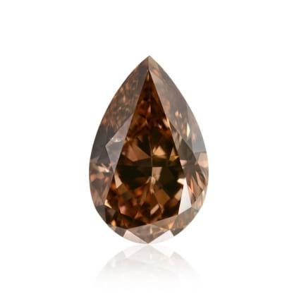 Камень без оправы, бриллиант Цвет: Коричневый, Вес: 2.01 карат