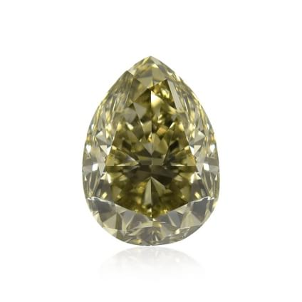 Камень без оправы, бриллиант Цвет: Зеленый, Вес: 1.32 карат