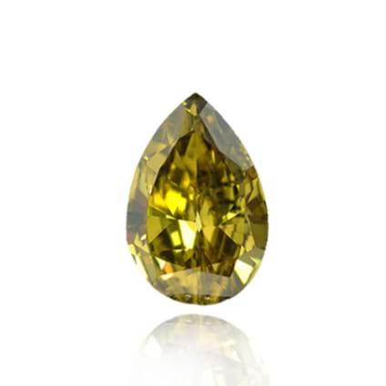Fancy Deep Grayish Greenish Yellow 110496