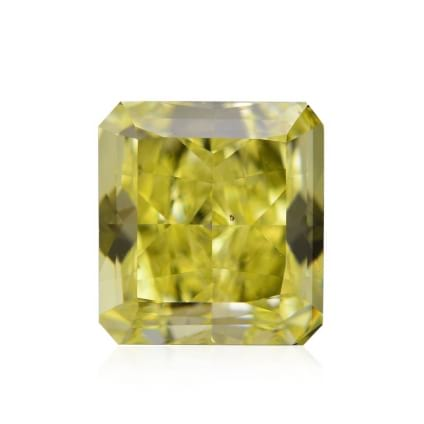 Камень без оправы, бриллиант Цвет: Желтый, Вес: 1.07 карат