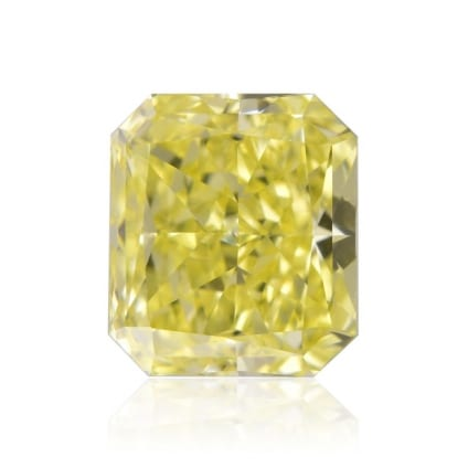 Камень без оправы, бриллиант Цвет: Желтый, Вес: 0.76 карат