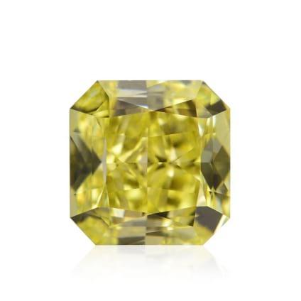 Камень без оправы, бриллиант Цвет: Желтый, Вес: 1.29 карат