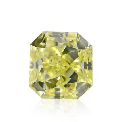 Камень без оправы, бриллиант Цвет: Желтый, Вес: 0.40 карат