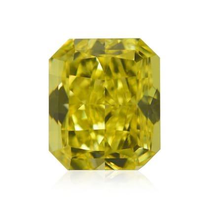 Камень без оправы, бриллиант Цвет: Желтый, Вес: 1.03 карат