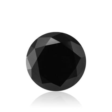 Камень без оправы, бриллиант Цвет: Черный, Вес: 2.26 карат