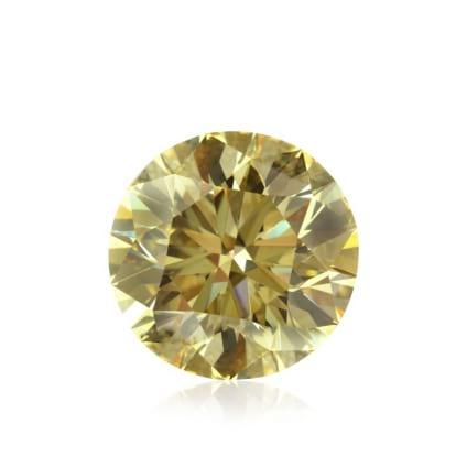 Камень без оправы, бриллиант Цвет: Желтый, Вес: 10.17 карат