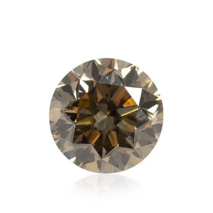 Камень без оправы, бриллиант Цвет: Коричневый, Вес: 3.02 карат