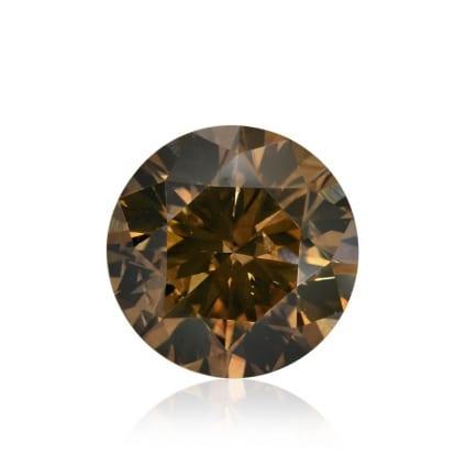 Камень без оправы, бриллиант Цвет: Коричневый, Вес: 2.57 карат