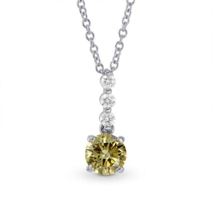 Chameleon Round Diamond Drop Pendant 968652