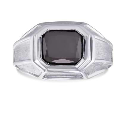 Кольцо, бриллиант Цвет: Черный, Вес: 3.42 карат