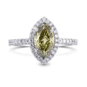 Chameleon Marquise Diamond Halo Ring 1339314
