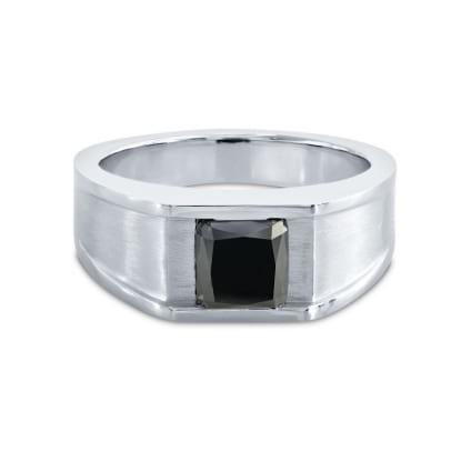 Men's Black Diamond Ring 169104