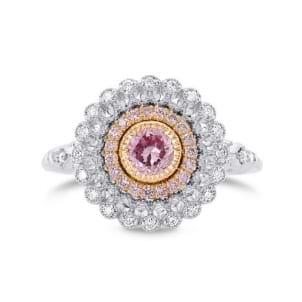 Argyle Fancy Intense Purplish Pink Diamond Ring 1695126