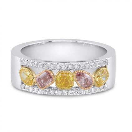 Кольцо, бриллиант Цвет: Микс, Вес: 1.03 карат