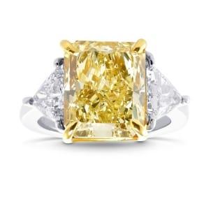 Кольцо, бриллиант Цвет: Желтый, Вес: 5.67 карат