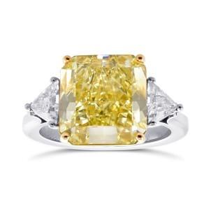Кольцо, бриллиант Цвет: Желтый, Вес: 6.34 карат
