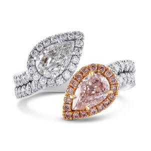 Кольцо, бриллиант Цвет: Микс, Вес: 1.29 карат