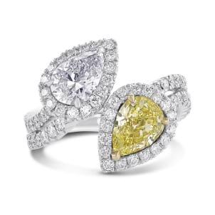 Кольцо, бриллиант Цвет: Микс, Вес: 1.93 карат