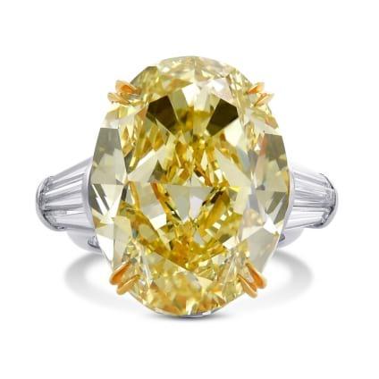 Кольцо, бриллиант Цвет: Желтый, Вес: 26.72 карат