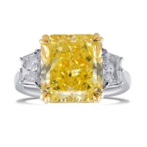 Кольцо, бриллиант Цвет: Желтый, Вес: 7.02 карат