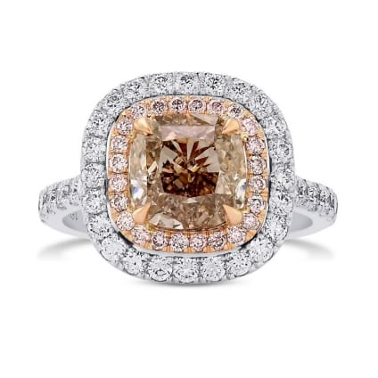 Кольцо, бриллиант Цвет: Микс, Вес: 3.01 карат