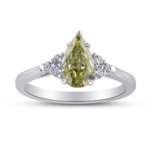 Chameleon and Diamond Side Stones Ring 1838922