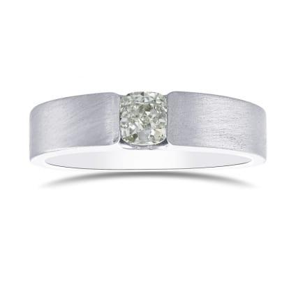 Кольцо, бриллиант Цвет: Зеленый, Вес: 0.61 карат
