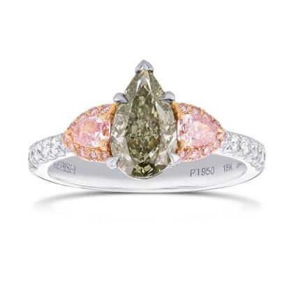 Кольцо, бриллиант Цвет: Микс, Вес: 1.42 карат