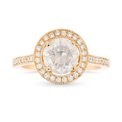 Кольцо, бриллиант Цвет: Белый, Вес: 1.18 карат