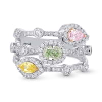 Extraordinary Mix Color and Shape Diamond Ring 2240286