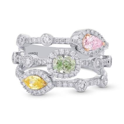 Кольцо, бриллиант Цвет: Микс, Вес: 0.80 карат