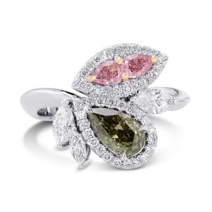 Кольцо, бриллиант Цвет: Микс, Вес: 1.00 карат