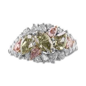 Кольцо, бриллиант Цвет: Микс, Вес: 2.34 карат