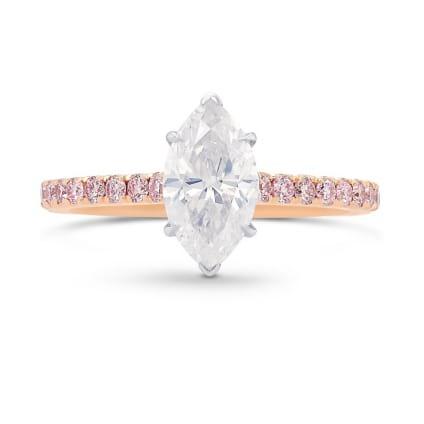 Кольцо, бриллиант Цвет: Белый, Вес: 1.01 карат