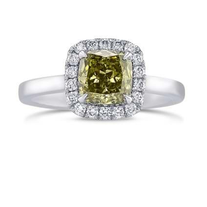 Кольцо, бриллиант Цвет: Хамелеон, Вес: 1.07 карат