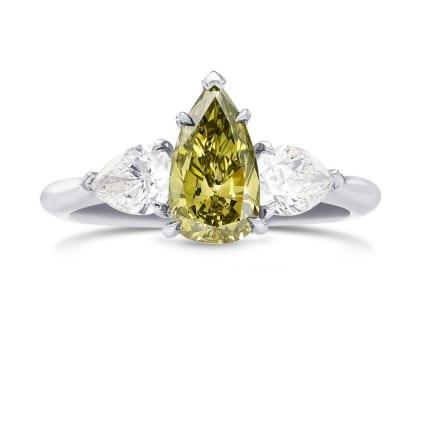 Кольцо, бриллиант Цвет: Хамелеон, Вес: 1.05 карат