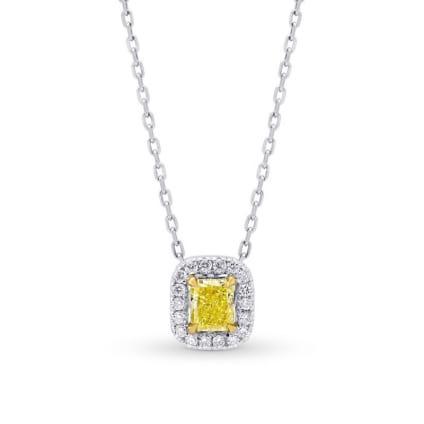 Подвеска, бриллиант Цвет: Желтый, Вес: 0.30 карат